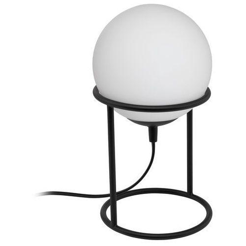 Lampka Eglo Castellato 1 97331 stołowa nocna 1x28W E14 czarna/biała, 97331