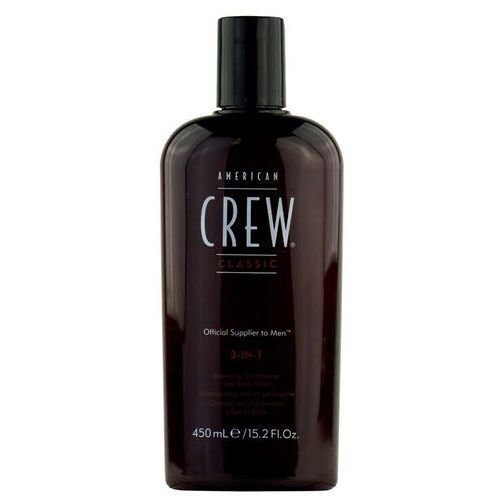 American Crew Classic 3-in-1 - szampon, odżywka, żel pod prysznic 450ml