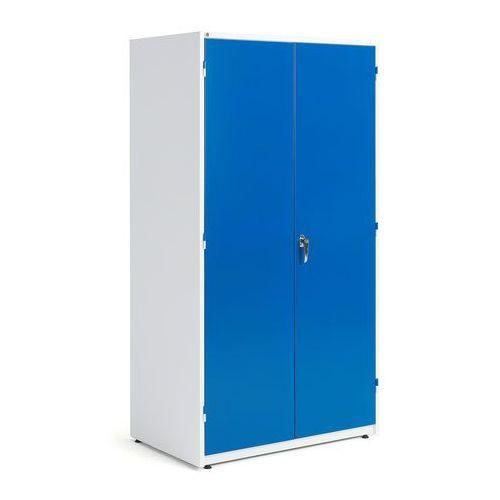 Aj produkty Szafa warsztatowa, 1900x1020x635 mm, biały, niebieski