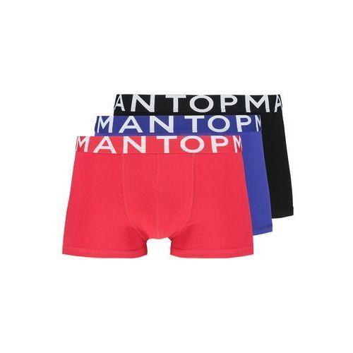 Topman HIPSTERS 3 PACK Panty rot/schwarz/dunkelblau