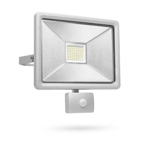 SMARTWARES Reflektor LED z czujnikiem, 50 W, szary, SL1-DOB50