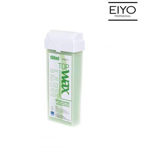 Wosk z olejkiem z drzewa herbacianego szeroka rolka | TOP WAX B&M - 100 ml