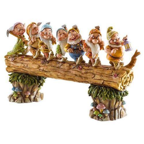 Jim shore Siedem krasnoludków z bajki królewna śnieżna homeward bound krasnoludek krasnoludki 4005434 figurka dekoracja pokój dziecięcy (0045544076524)