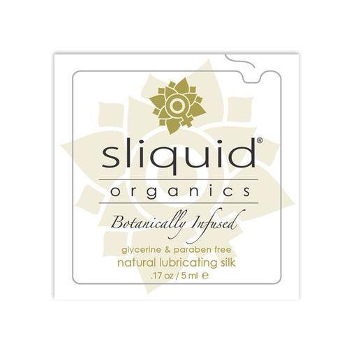 Sliquid Hybrydowy żel nawilżający - organics silk lubricant pillow 5 ml saszetka