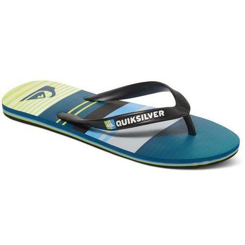 buty QUIKSILVER - Molokai Everyda Black/Green/Grey (XKGS)
