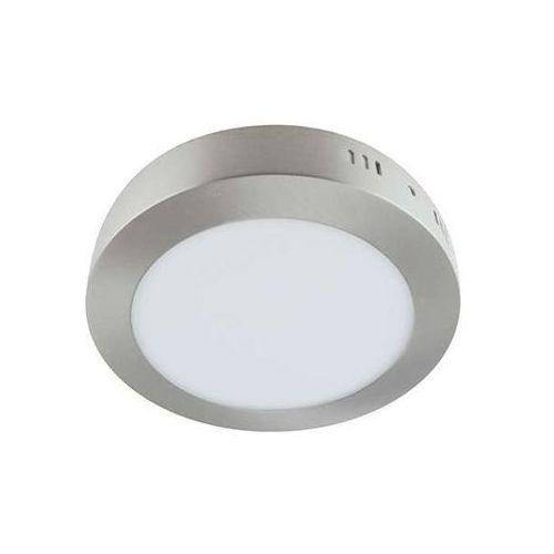 Ideus Plafon lampa sufitowa martin 03274 natynkowa oprawa okrągła led 18w minimalistyczna satyna