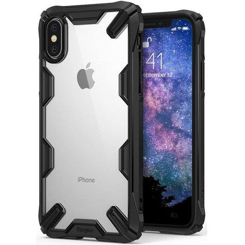 Etui Ringke Fusion X Apple iPhone XS Max black (8809628564015)
