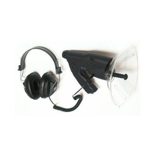 Mikrofon kierunkowy do 100m. + luneta + zapis + słuchawki. marki Mcn