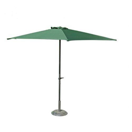 Parasol ogrodowy przeciwsłoneczny ø 270 cm zielony