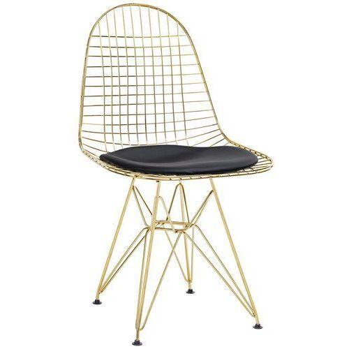 Krzesło dsr net gold mc-021m.black - - sprawdź kupon rabatowy w koszyku marki King home