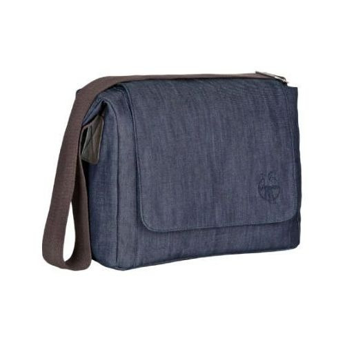 LÄssig torba na akcesoria do przewijania green label small messenger update bag denim blue marki Lässig