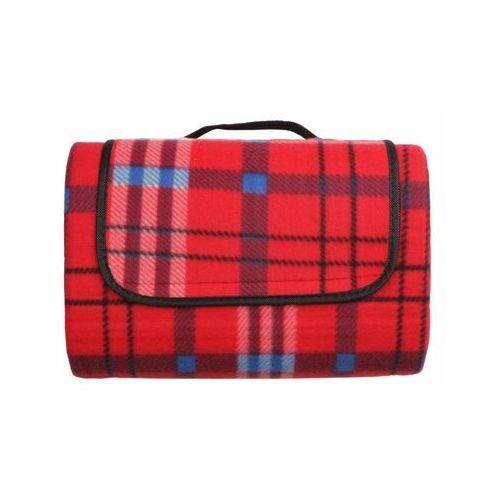 Koc piknikowy inverno czerwony 135 x 175 cm nieprzemakalny marki Splendid