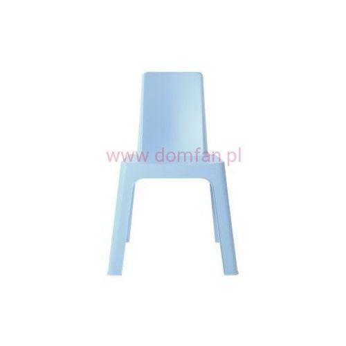 Krzesło dziecięce julieta - niebieski marki Resol