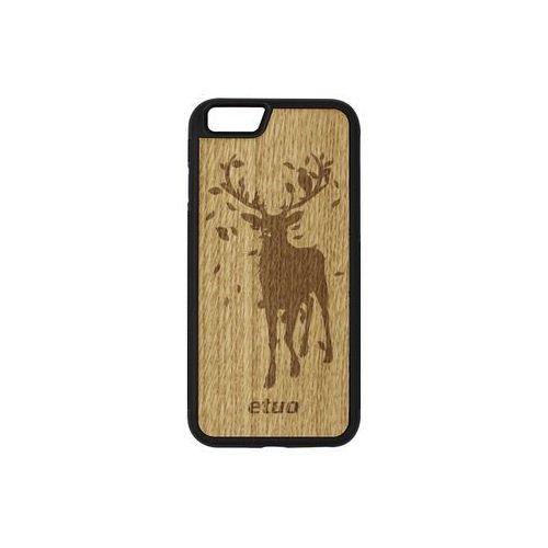 Apple iPhone 6s - etui na telefon Wood Case - dąb - jeleń, ETAP230EWODDB002000