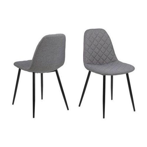 Krzesło Wilma - szary jasny, 112645