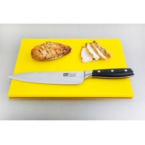 OUTLET - Deska do krojenia | mała | wysoka gęstość | żółta