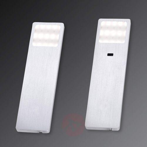 helena oświetlenie podszafkowe led aluminium, 1-punktowy - nowoczesny - obszar wewnętrzny - helena - czas dostawy: od 2-4 dni roboczych marki Paul neuhaus