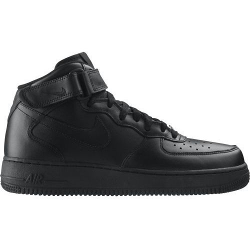 Nike Buty  air force 1 mid all black - 315123-001