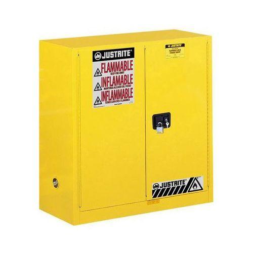 Justrite Szafa bezpieczeństwa fm, wys. x szer. x głęb. 1118x1092x457 mm, drzwi ręczne, na
