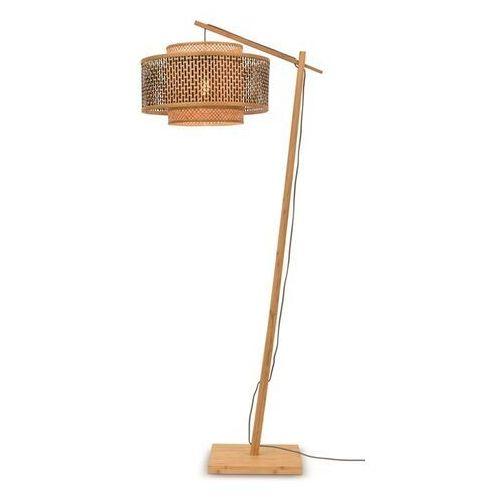 Good&mojo lampa podłogowa mała bhutan naturalna 50x30 bhutan/f/ad/n/5030/bn (8716248084376)