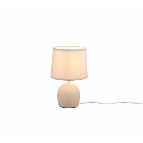Trio RL Malu R50802644 lampa stołowa lampka 1x10W E14 beżowa/beżowa