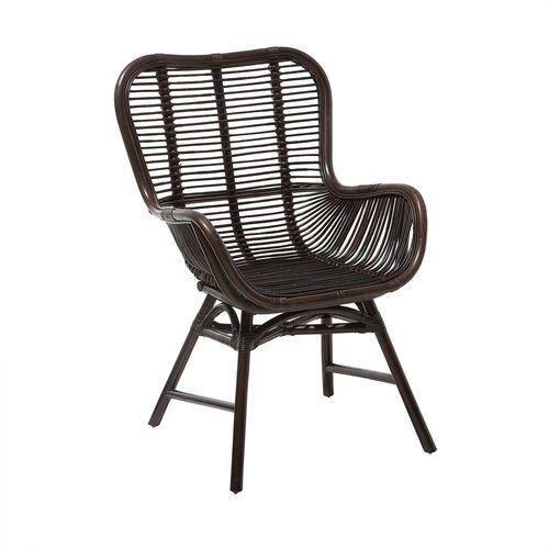 Krzesło rattanowe brązowe TOGO (4260602372165)