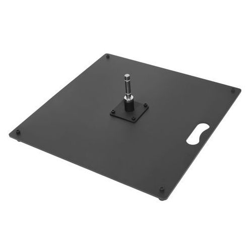 15kg- 50x50cm podstawa płaska do beach flag - flat metal base 50x50cm marki Axox
