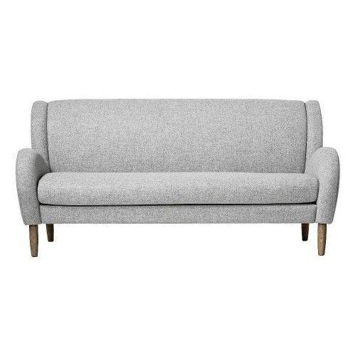 Bloomingville Szara sofa skandynawska chill, wełna -  (5711173128761)