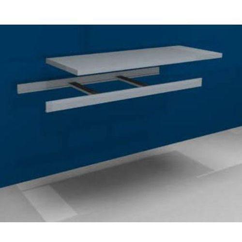 Dodatkowa półka w komplecie z trawersami i półką stalową,szer. 1500 mm marki Unbekannt