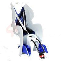 Fotelik rowerowy BIKE-GP blue, kolor niebieski