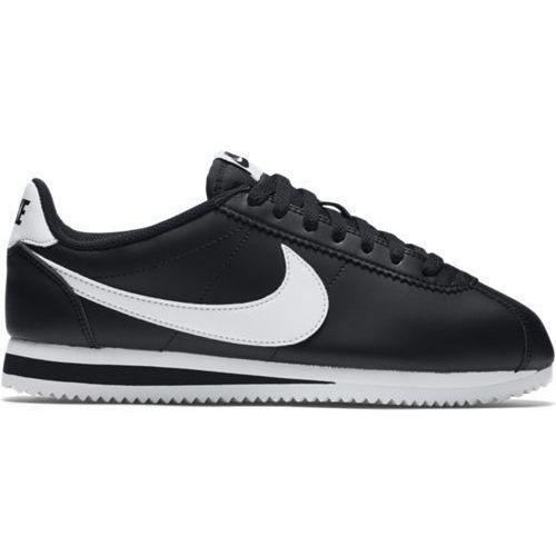Buty Nike Wmns Classic Cortez Leather - 807471-010 - Czarny
