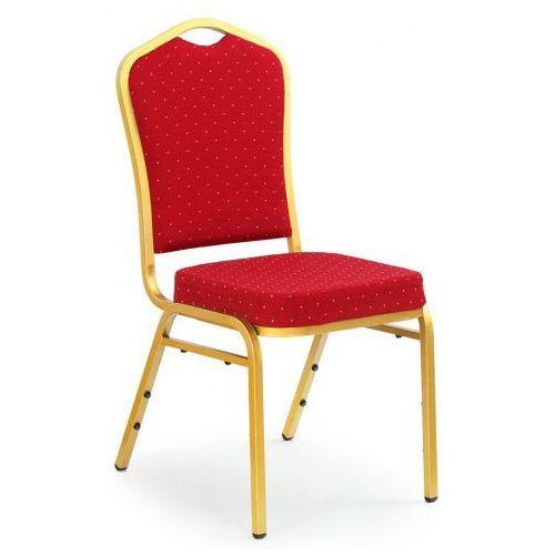 Luksusowe stylowe krzesło Abrax - bordowe, V-CH-K/66-KR-BORDOWY