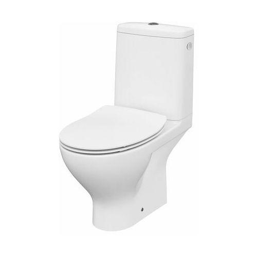 CERSANIT MODUO Kompakt WC z odpływem poziomym, deska twarda wolnoopadająca SLIM K116-001, K116-001