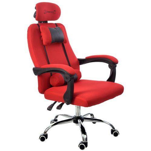 Fotel biurowy czerwony, model gpx001 marki Giosedio