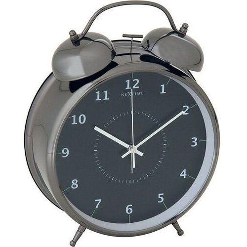 Budzik Wake Up czarny 23 cm, 5113zw