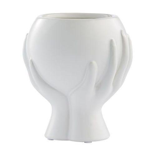 Lene Bjerre doniczka Haniya 13,5 cm biała