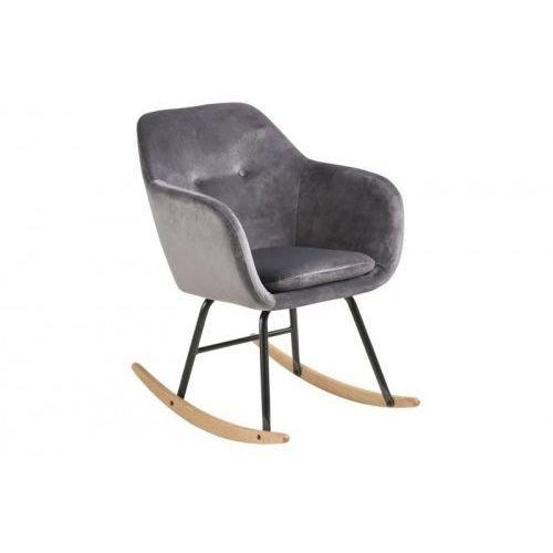 Fotel bujany Emilia VIC szary