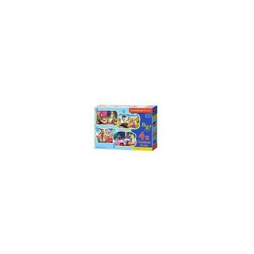 Puzzle 4w1 - bajki - poznań, hiperszybka wysyłka od 5,99zł! marki Castor