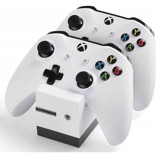 Stacja ładująca twin:charge x do kontrolerów xbox one + 2 akumulatory marki Snakebyte