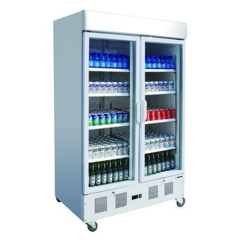 Asber Szafa chłodnicza ekspozycyjna z podświetlanym panelem, 920 l, 1200x710x2060 mm   edenox, ape-902-c