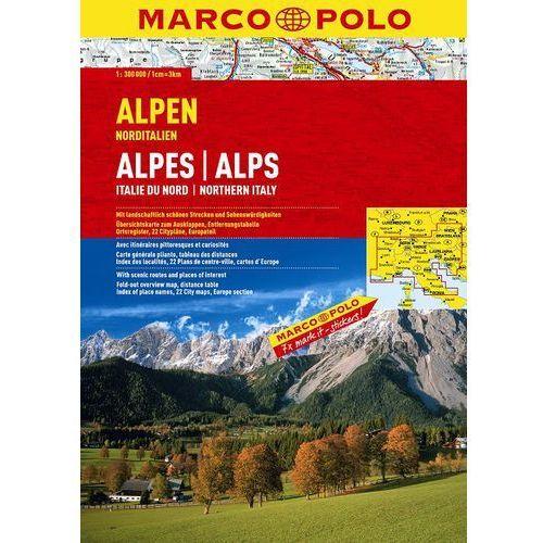 Marco Polo Atlas Alpy / Włochy Północne - skala 1:300 000 (2010)