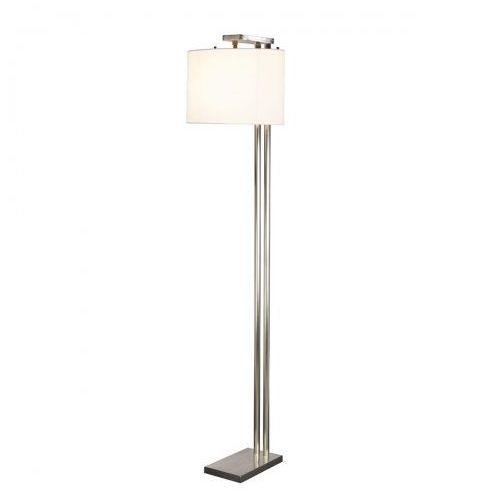 Elstead Belmont floor lamp podłogowa belmont fl 166cm srebrny-biały