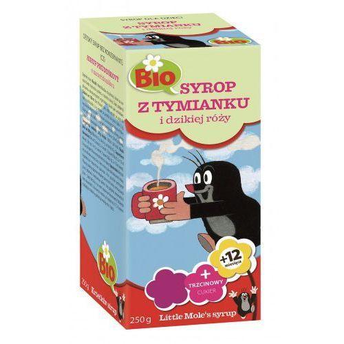 Apotheke (herbatki dla dzieci, dorosłych, błonnik Syrop dla dzieci z tymianku i dzikiej róży bio 250 g - apotheke (little mole)