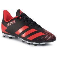 Adidas Buty - predator 20.4 fxg j ef1931 cblack/actred/cblack