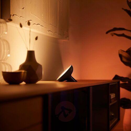 Philips hue bloom lampa stołowa czarna white&color (8718699771126)