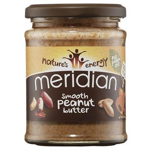 MERIDIAN Natural Peanut Butter 100% - 280g - Smooth (5014213711306)