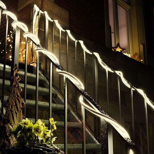 Hellum Wąż świetlny led neon, 10 m ciepła biel (4001233416039)