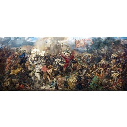 Reprodukcja obrazu Bitwa pod Grunwaldem - Jan Matejko