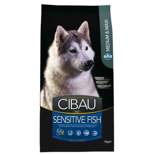 Farmina cibau sensitive fish medium/maxi karma hipoalergiczna dla psów 12kg