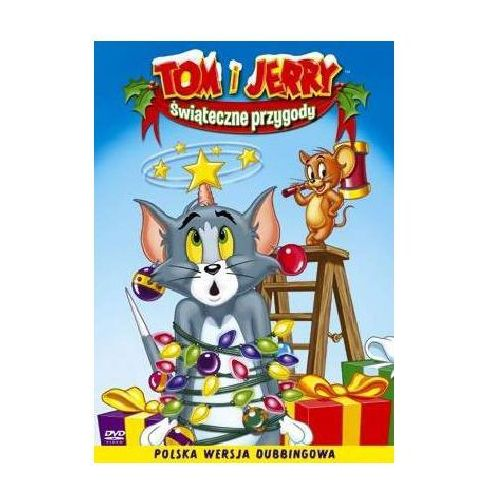 Tom i Jerry, Świąteczne przygody (DVD) - Galapagos DARMOWA DOSTAWA KIOSK RUCHU